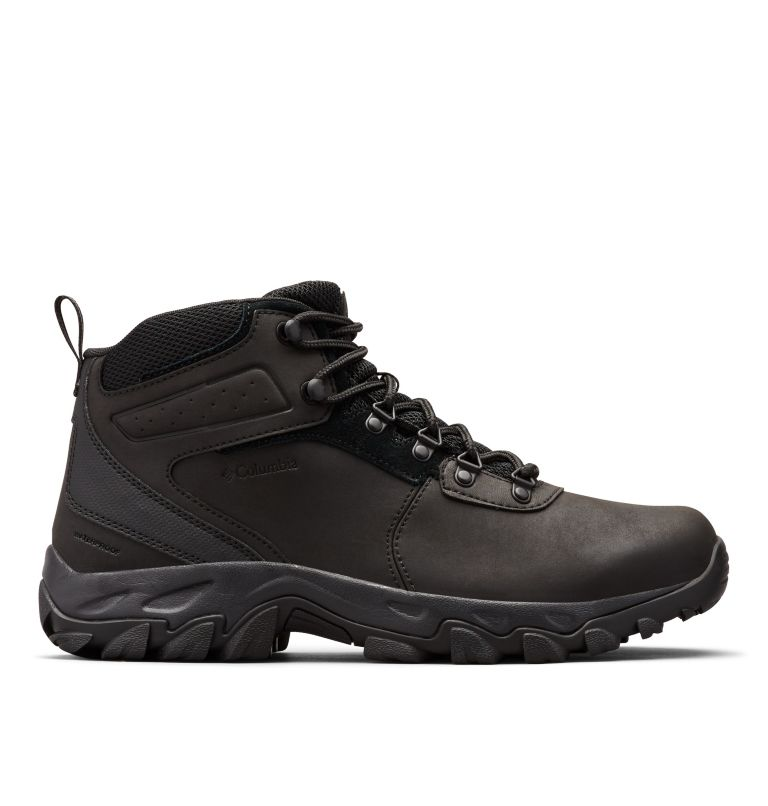 NEWTON RIDGE™ PLUS II WATERPROOF WIDE | 011 | 10.5 Men's Newton Ridge™ Plus II Waterproof Hiking Boot - Wide, Black, Black, front