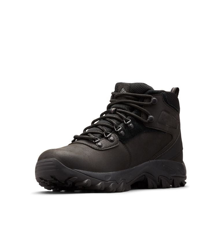 NEWTON RIDGE™ PLUS II WATERPROOF WIDE | 011 | 9.5 Men's Newton Ridge™ Plus II Waterproof Hiking Boot - Wide, Black, Black