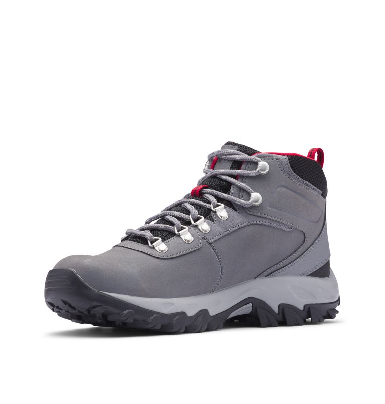 NEWTON RIDGE™ PLUS II WATERPROOF WIDE | 038 | 9 Men's Newton Ridge™ Plus II Waterproof Hiking Boot - Wide, Ti Grey Steel, Rocket
