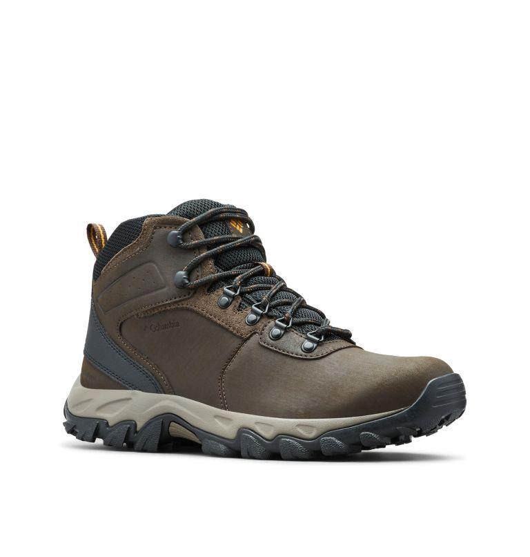 NEWTON RIDGE™ PLUS II WATERPROOF WIDE | 231 | 10 Men's Newton Ridge™ Plus II Waterproof Hiking Boot - Wide, Cordovan, Squash, 3/4 front