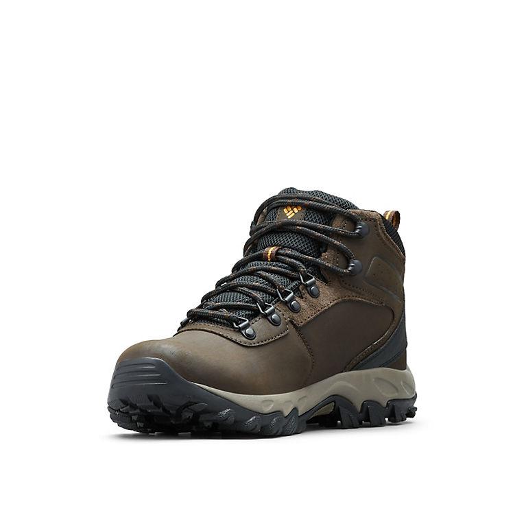 Men S Newton Ridge Plus Ii Waterproof Wide Hiking Shoe Columbia Com