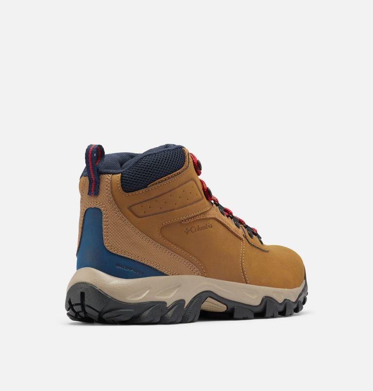 NEWTON RIDGE™ PLUS II WATERPROOF WIDE | 234 | 16 Men's Newton Ridge™ Plus II Waterproof Hiking Boot - Wide, Light Brown, Red Velvet, 3/4 back