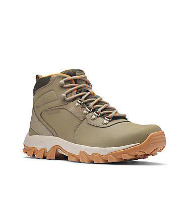 Men's Newton Ridge™ Plus II Waterproof Hiking Boot - Wide NEWTON RIDGE™ PLUS II WATERPROOF WIDE | 234 | 10, Sage, Valencia, 3/4 front