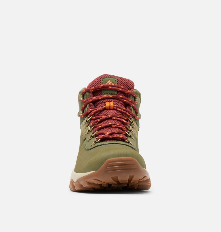 NEWTON RIDGE™ PLUS II WATERPROOF WIDE | 371 | 9 Men's Newton Ridge™ Plus II Waterproof Hiking Boot - Wide, Hiker Green, Marsala Red, toe