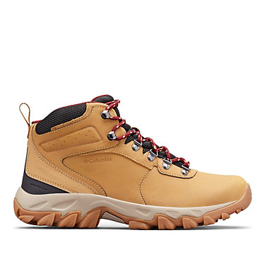 Men's Newton Ridge™ Plus II Waterproof Hiking Boot - Wide NEWTON RIDGE™ PLUS II WATERPROOF WIDE | 234 | 10, Curry, Red Jasper, front