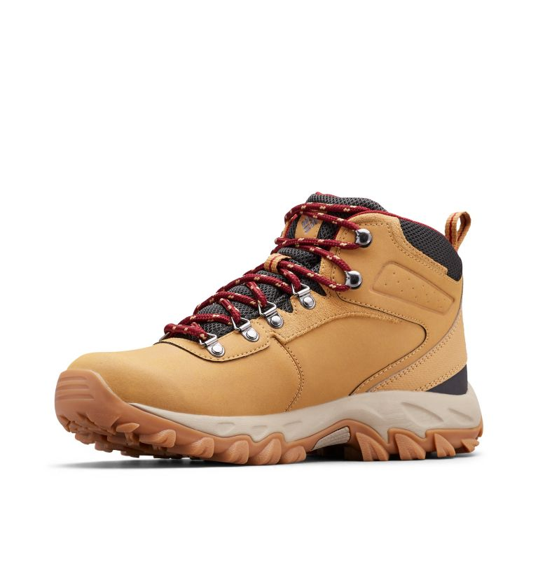 NEWTON RIDGE™ PLUS II WATERPROOF WIDE | 373 | 9 Men's Newton Ridge™ Plus II Waterproof Hiking Boot - Wide, Curry, Red Jasper