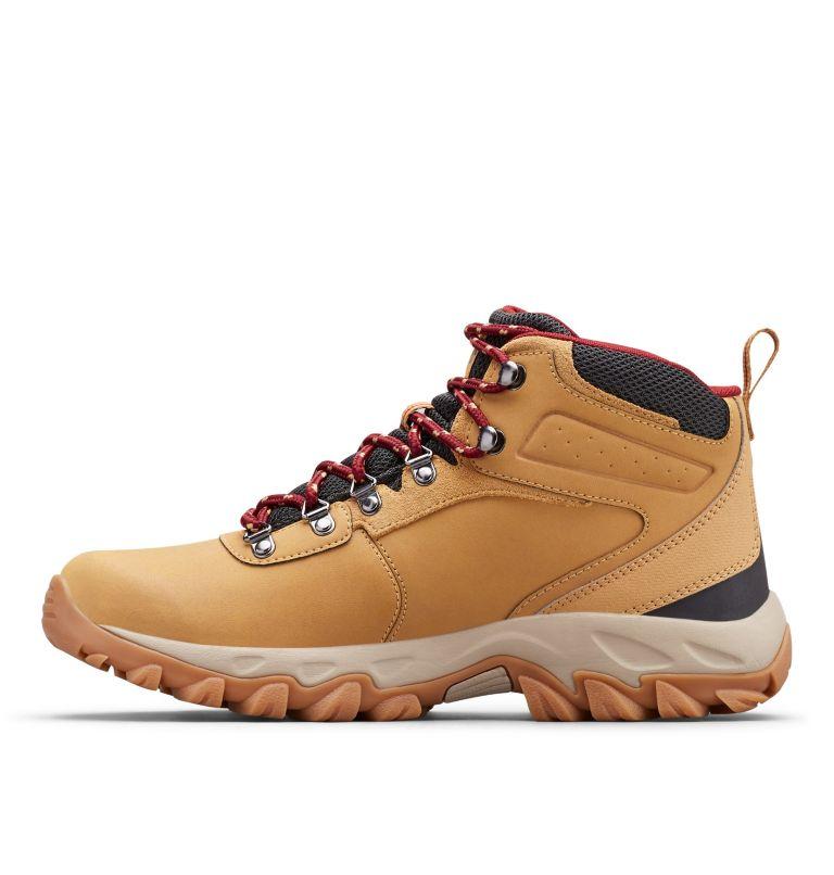 NEWTON RIDGE™ PLUS II WATERPROOF WIDE | 373 | 7.5 Men's Newton Ridge™ Plus II Waterproof Hiking Boot - Wide, Curry, Red Jasper, medial