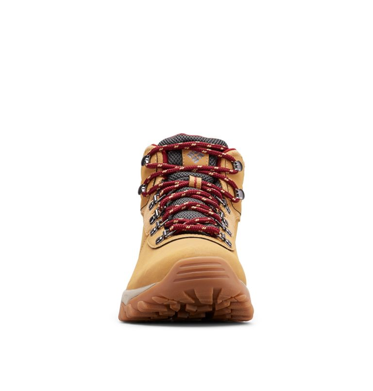 NEWTON RIDGE™ PLUS II WATERPROOF WIDE | 373 | 16 Men's Newton Ridge™ Plus II Waterproof Hiking Boot - Wide, Curry, Red Jasper, toe