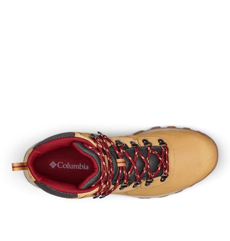 NEWTON RIDGE™ PLUS II WATERPROOF WIDE | 373 | 10.5 Men's Newton Ridge™ Plus II Waterproof Hiking Boot - Wide, Curry, Red Jasper, top