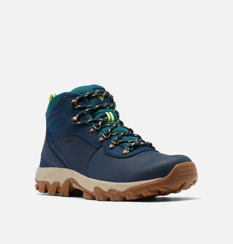NEWTON RIDGE™ PLUS II WATERPROOF WIDE | 465 | 10 Men's Newton Ridge™ Plus II Waterproof Hiking Boot - Wide, Collegiate Navy, Voltage, 3/4 front