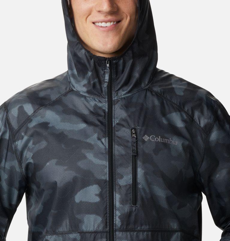 Flash Forward™ Windbreaker Print | 007 | S Men's Flash Forward™ Windbreaker Print Jacket, Black Spotted Camo, a2
