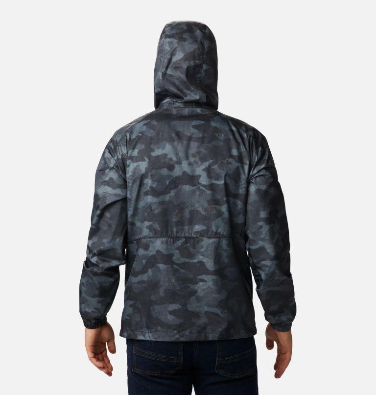 Flash Forward™ Windbreaker Print | 007 | S Men's Flash Forward™ Windbreaker Print Jacket, Black Spotted Camo, back
