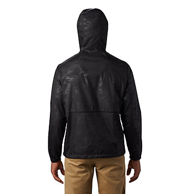 Coupe-vent imprimé Flash Forward™ pour homme Flash Forward™ Windbreaker Print | 009 | L, Black Technical Camo Deboss, back