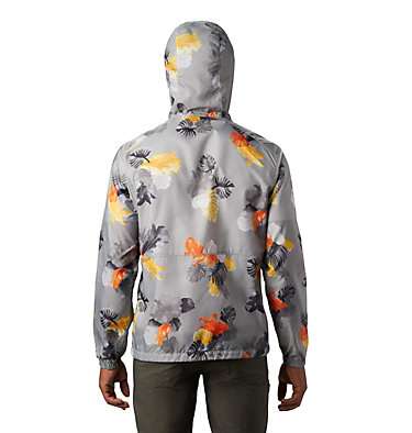 Coupe-vent imprimé Flash Forward™ pour homme Flash Forward™ Windbreaker Print | 009 | L, Columbia Grey Tropical N Monsteras, back