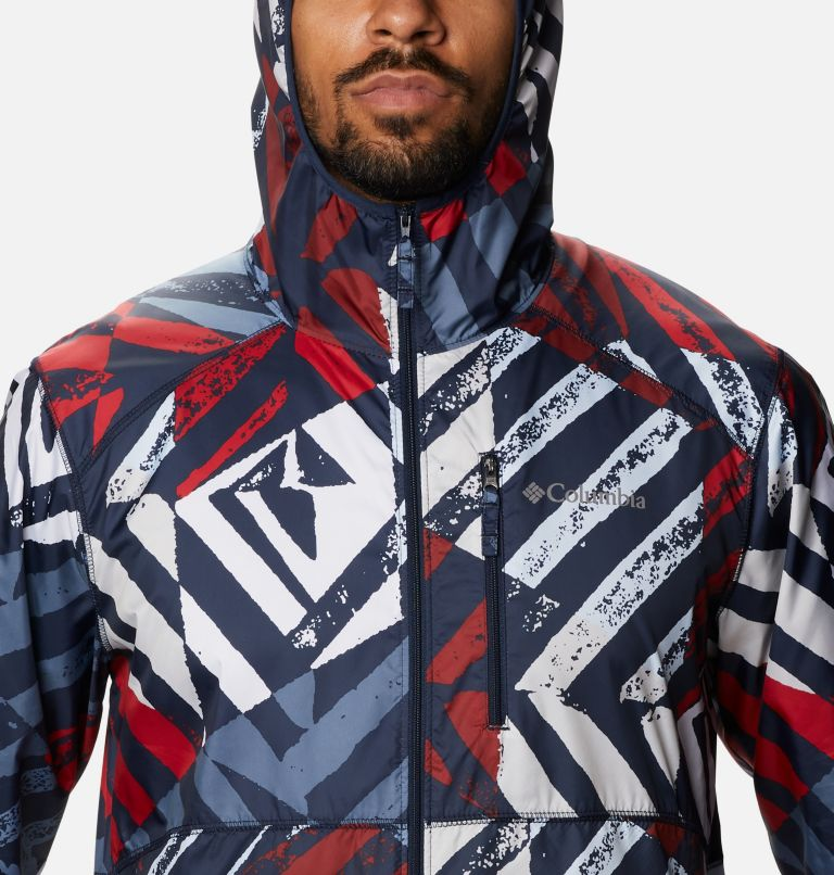 Men's Flash Forward™ Windbreaker Print Jacket Men's Flash Forward™ Windbreaker Print Jacket, a2
