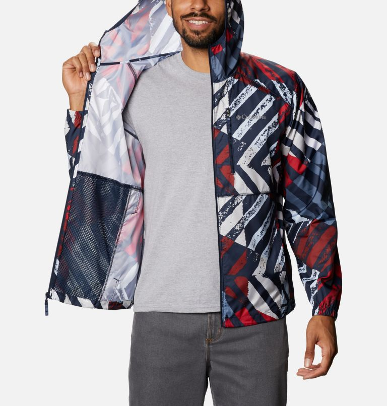 Men's Flash Forward™ Windbreaker Print Jacket Men's Flash Forward™ Windbreaker Print Jacket, a3