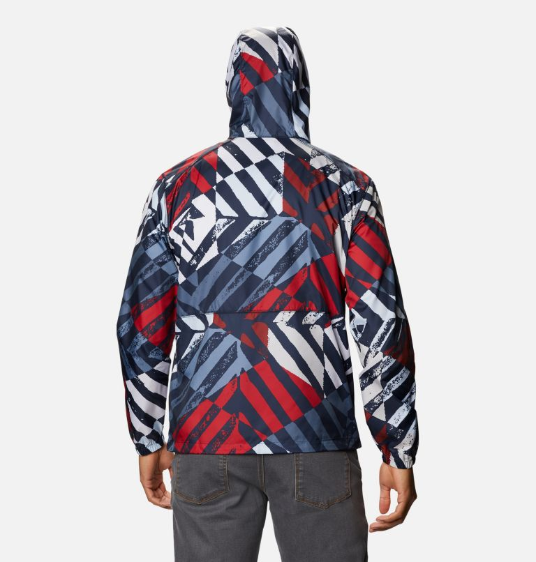 Men's Flash Forward™ Windbreaker Print Jacket Men's Flash Forward™ Windbreaker Print Jacket, back