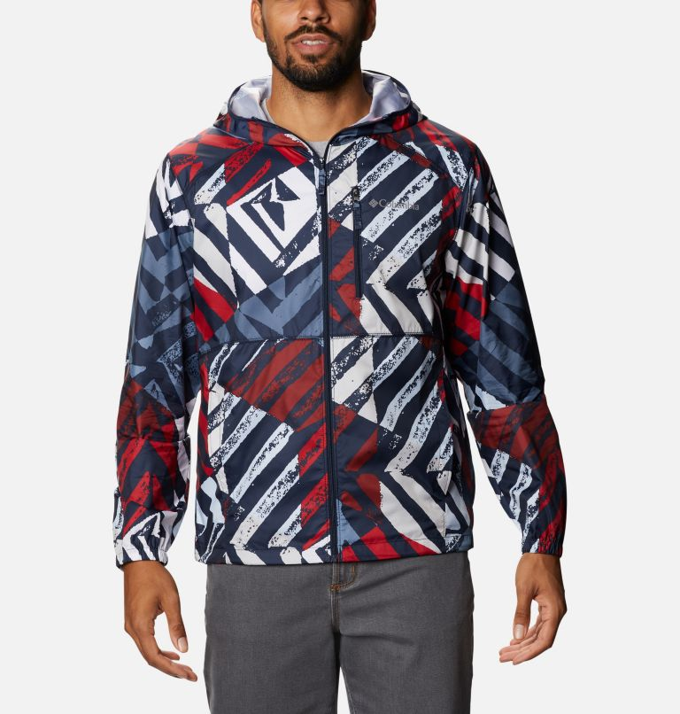 Men's Flash Forward™ Windbreaker Print Jacket Men's Flash Forward™ Windbreaker Print Jacket, front