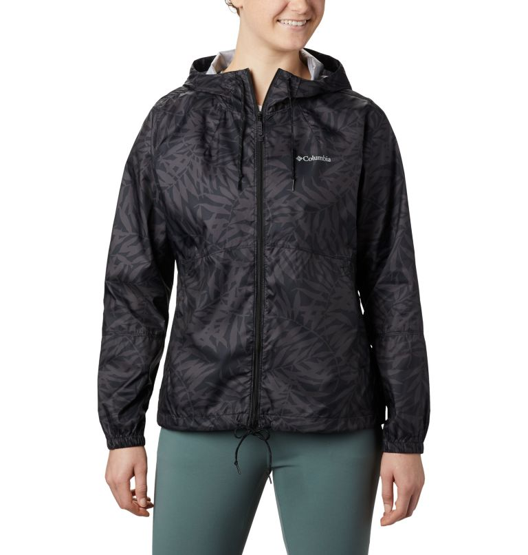 Women's Flash Forward™ Printed Windbreaker Jacket Women's Flash Forward™ Printed Windbreaker Jacket, front