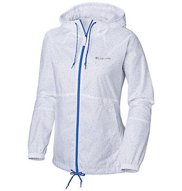 Women's Flash Forward™ Printed Windbreaker Jacket , front