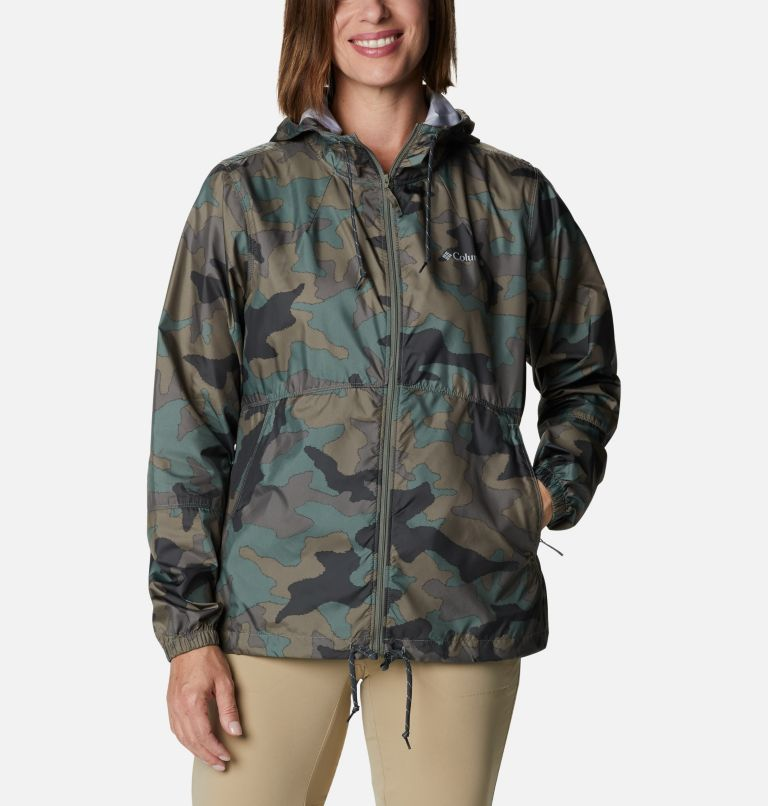 Columbia: Women's Flash Forward Printed Windbreaker Jacket $19.98