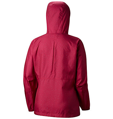 Cortavientos estampado Flash Forward™ para mujer Flash Forward™ Printed Windbre | 630 | S, Haute Pink Dots Print, back