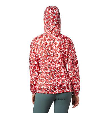 Cortavientos estampado Flash Forward™ para mujer Flash Forward™ Printed Windbre | 630 | S, Bold Orange Polkadot Floral, back