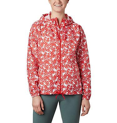 Cortavientos estampado Flash Forward™ para mujer Flash Forward™ Printed Windbre | 630 | S, Bold Orange Polkadot Floral, front