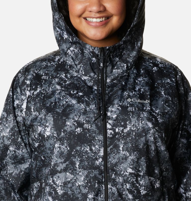 Women's Flash Forward™ Printed Windbreaker – Plus Size Women's Flash Forward™ Printed Windbreaker – Plus Size, a2