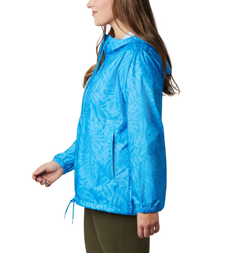 Women's Flash Forward™ Printed Windbreaker – Plus Size Women's Flash Forward™ Printed Windbreaker – Plus Size, a1