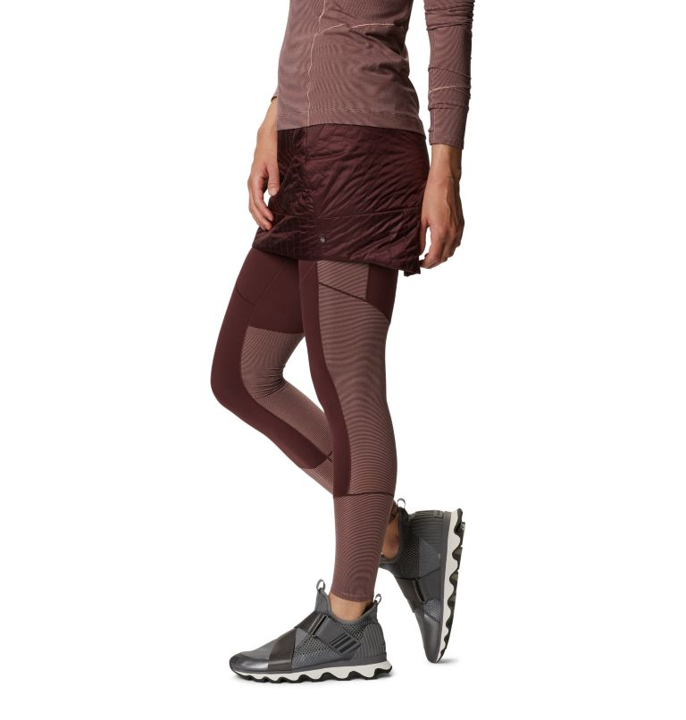 Trekkin™ Insulated Mini Skirt | 629 | M Women's Trekkin™ Insulated Mini Skirt, Washed Raisin, a1