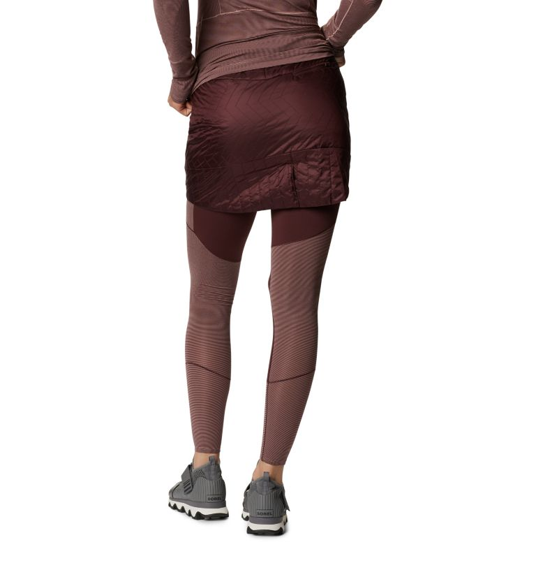 Trekkin™ Insulated Mini Skirt | 629 | M Women's Trekkin™ Insulated Mini Skirt, Washed Raisin, back