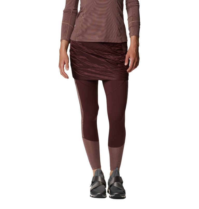 Trekkin™ Insulated Mini Skirt | 629 | M Women's Trekkin™ Insulated Mini Skirt, Washed Raisin, front