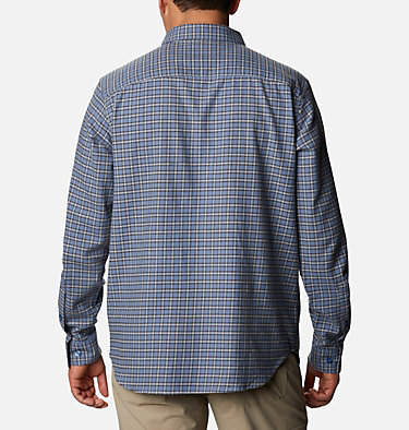 Men's Cornell Woods™ Flannel Long Sleeve Shirt Cornell Woods™ Flannel Long Sleeve Shirt | 449 | S, Bluestone Plaid, back