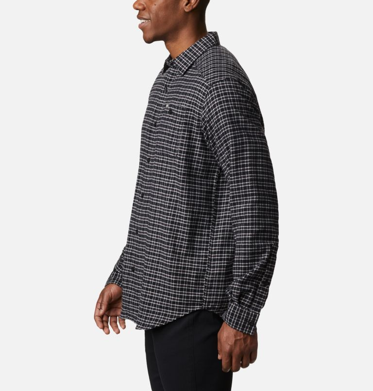 Cornell Woods™ Flannel Long Sleeve Shirt | 043 | 3X Men's Cornell Woods™ Flannel Long Sleeve Shirt - Big, Nimbus Grey Plaid, a1