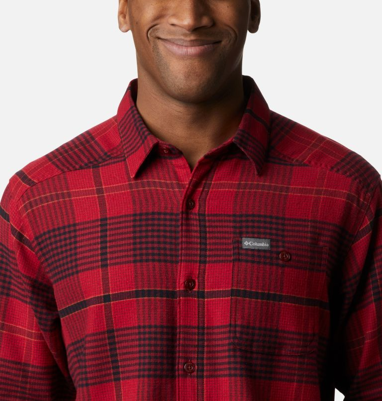 Men's Cornell Woods™ Flannel Long Sleeve Shirt - Big Men's Cornell Woods™ Flannel Long Sleeve Shirt - Big, a2