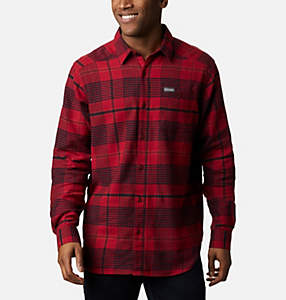 Men's Cornell Woods™ Flannel Long Sleeve Shirt - Big