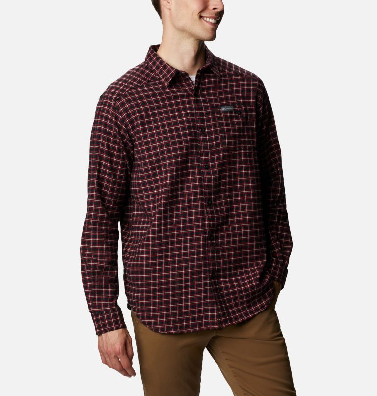 Men's Cornell Woods™ Flannel Long Sleeve Shirt - Tall Men's Cornell Woods™ Flannel Long Sleeve Shirt - Tall, a3