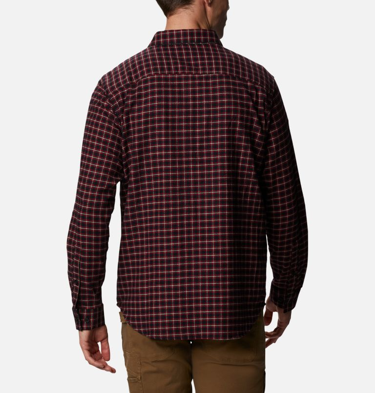 Men's Cornell Woods™ Flannel Long Sleeve Shirt - Tall Men's Cornell Woods™ Flannel Long Sleeve Shirt - Tall, back