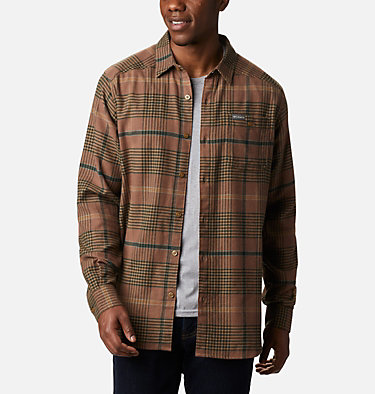 Men's Cornell Woods™ Flannel Long Sleeve Shirt - Tall Cornell Woods™ Flannel Long Sleeve Shirt | 449 | 3XT, Delta Ombre Plaid, front