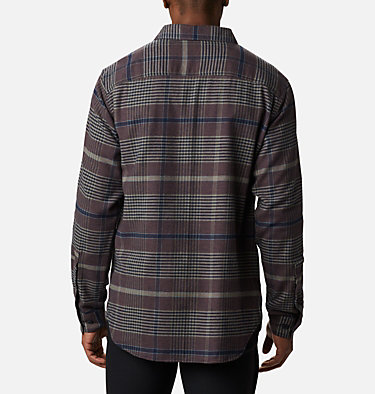 Men's Cornell Woods™ Flannel Long Sleeve Shirt - Tall Cornell Woods™ Flannel Long Sleeve Shirt | 449 | 3XT, Stone Green Ombre Plaid, back