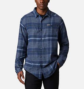 Men's Cornell Woods™ Flannel Long Sleeve Shirt - Tall
