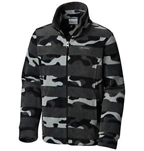 Boys' Zing™ III Printed Fleece Jacket