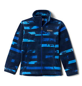 Boys' Zing™ III Printed Fleece Jacket