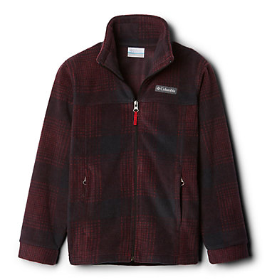 Veste en laine polaire Zing™ III pour garçon Zing™ III Fleece | 020 | L, Mountain Red Simple Plaid, front