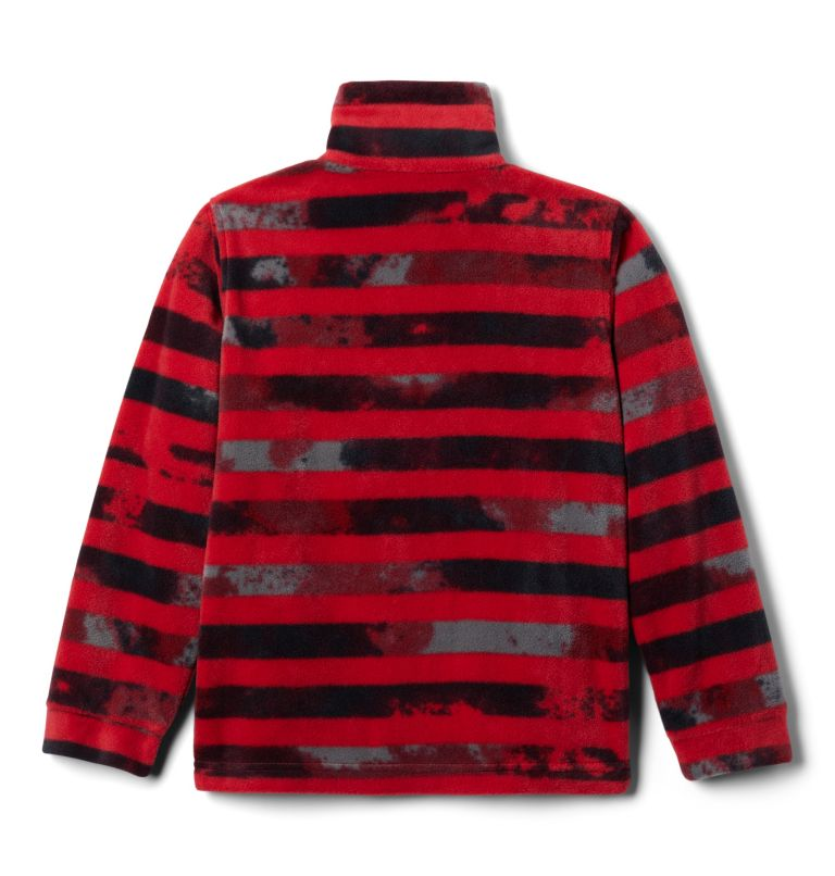 Boys' Zing™ III Printed Fleece Jacket Boys' Zing™ III Printed Fleece Jacket, back