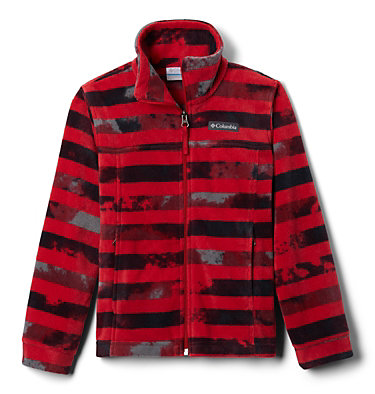 Veste en laine polaire Zing™ III pour garçon Zing™ III Fleece | 020 | L, Mountain Red Tie Dye Stripe, front