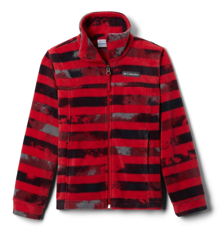 Boys' Zing™ III Printed Fleece Jacket Boys' Zing™ III Printed Fleece Jacket, front