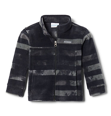 Boys' Toddler Zing™ III Fleece Jacket Zing™ III Fleece | 616 | 2T, Black Tie Dye Stripe, front