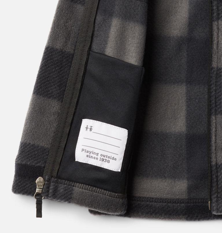 Zing™ III Fleece | 020 | 3T Boys' Toddler Zing™ III Fleece Jacket, Black Check (B) Print, a1